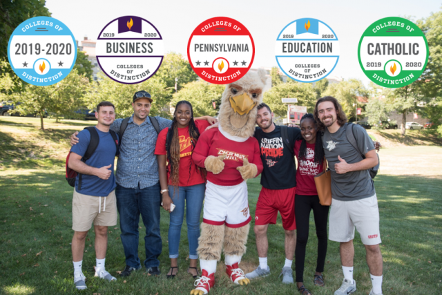 Chestnut Hill College received five badges this year, including new ones for its business and education programs.