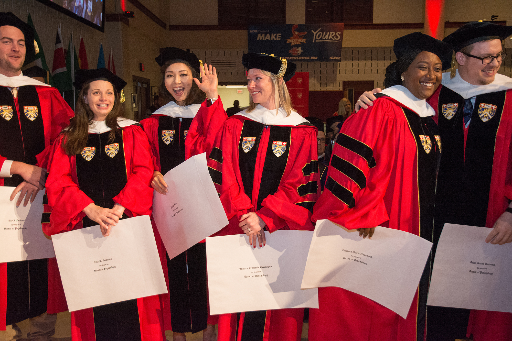 Students in the Psy.D. program celebrated their milestone as CHC welcomed brand new doctors to the field of clinical and counseling psychology.