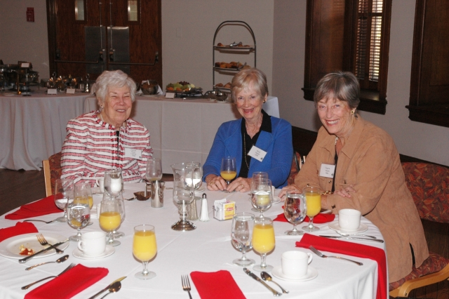 The Golden Griffins brunch honors CHC students who graduated 50 or more years ago.