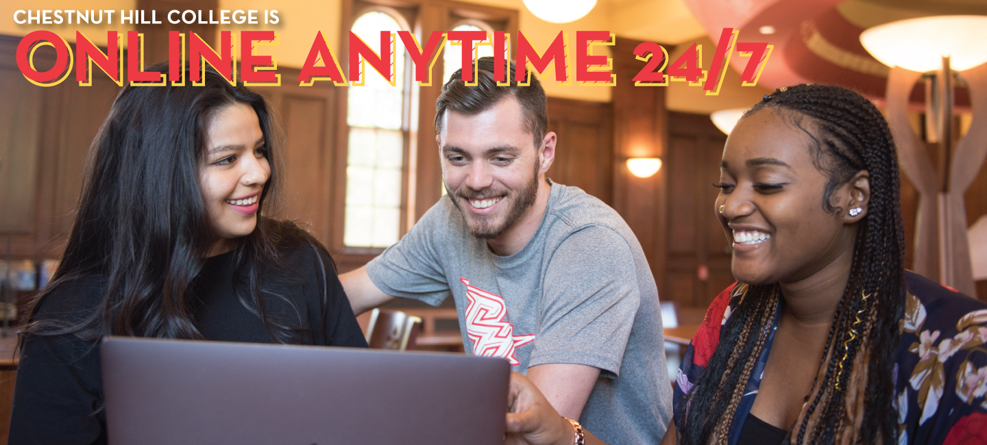 CHC is online, anytime, 24/7!