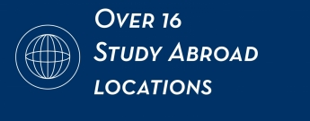 Over 16 study abroad locations