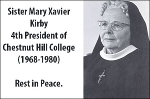 4th President of Chestnut Hill College 1968-1980