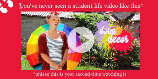 You've never seen a student life video like this one