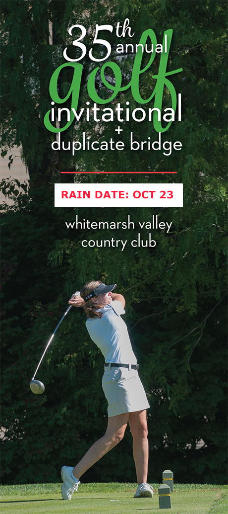 35th annual golf invitational October 23 Rain date