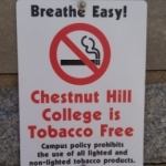 Tobacco-free sign