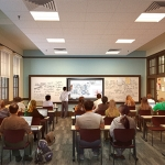 Clement hall classroom redesign rendering