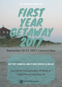 First Year Getaway 2017