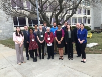 Representatives from Chestnut Hill College attend the SEPCHE Conference.