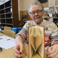 Sister Eileen Lynch's completed heart