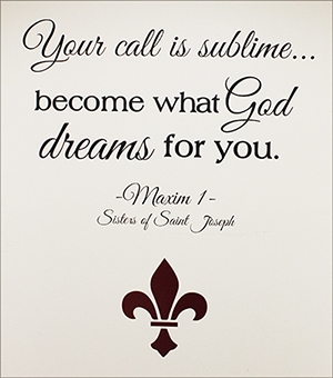 Your call is sublime … become what God dreams for you