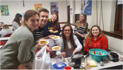 International Week and Belgian waffles