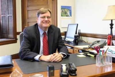William (B.J.) Cunningham, Ph.D., Dean of CHC's School of Graduate Studies