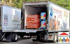 Food Bank Delivery Truck