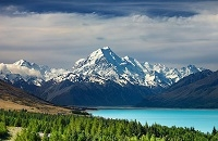 Mt. Cook, Canterbury, New Zealand