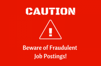 Fraudulent job postings image