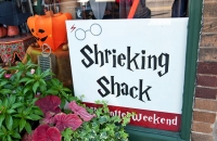 Shrieking Shack store window