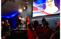 Malala Speaking