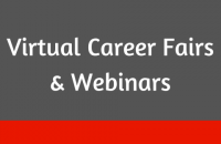 Virtual Career Fairs & Webinars
