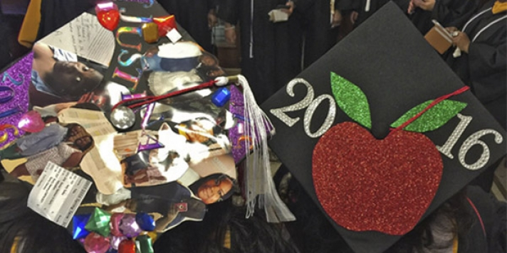 Apple on 2016 Mortarboard