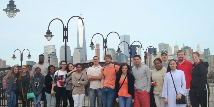 Students in New York