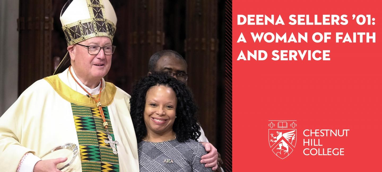 Deena and Cardinal Dolan