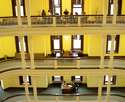 rotunda three floors