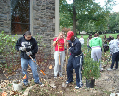 Gardeners in Earth Center