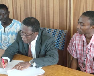 Ghana Signing