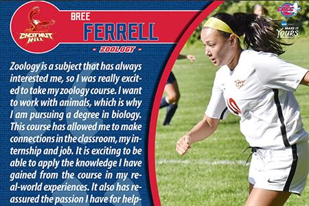 Bree Ferrell Zoology