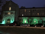 Fournier Hall goes green for the Eagles
