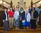 CHC staff and faculty receive awards for length of service to the College.