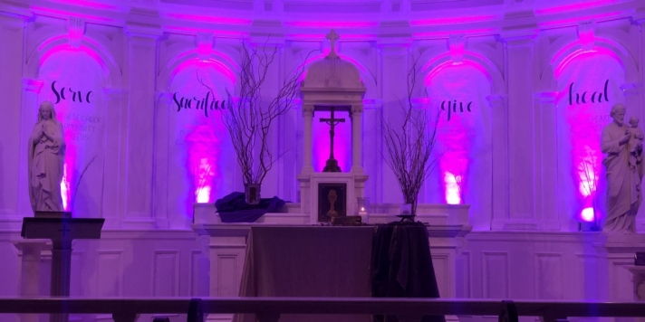 Chapel on Ash Wednesday