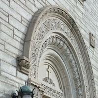 Arch over door