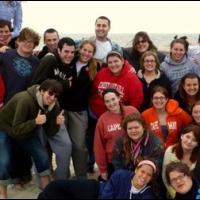 Students at a retreat