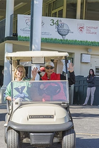 Many alumni, friends of the college, and community members enjoyed the 34th annual golf outing, held on Columbus Day.