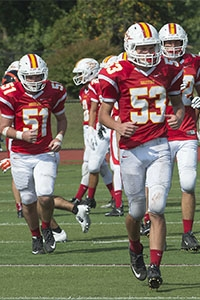Like Fall, CHC Sprint Football is underway. Don't miss the home opener on Sept. 30th!