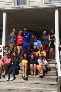 Students enjoyed an opportunity to escape to Cape May for a weekend as part of the annual first-year getaway held in September.