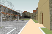 CHC-Main-Campus-Courtyard-St-Josephs