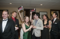 Young Alumni at the Scholarship Gala
